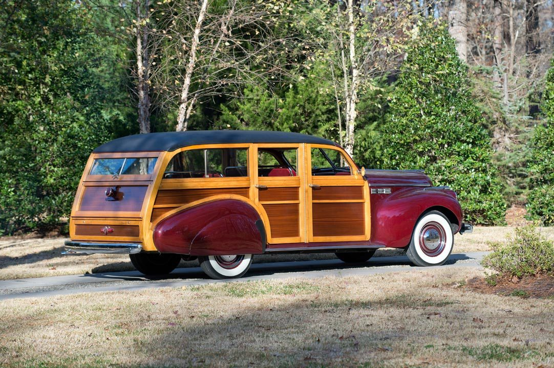 1940 Buick Estate Wagon from the side