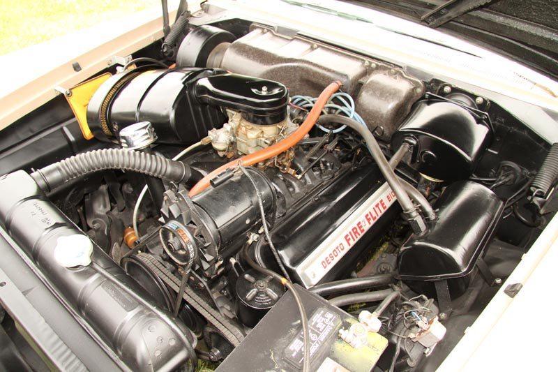1957 DeSoto Fireflite Sportsman V8 Engine