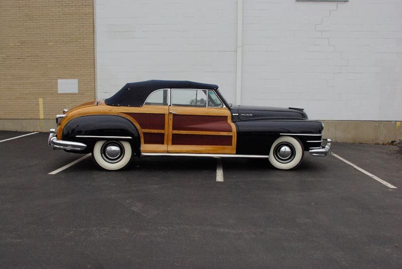 1948 Chrysler Town and Country Side View