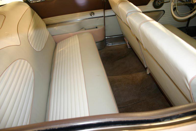1957 Mercury Turnpike Cruiser Hardtop Rear Seat