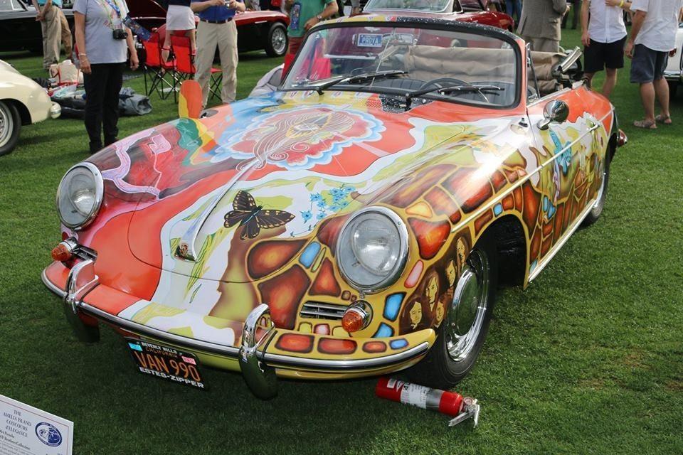 Janis Joplin 1964 Porsche 356 Cabriolet