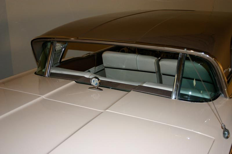 1957 Mercury Turnpike Cruiser Hardtop Rear Window