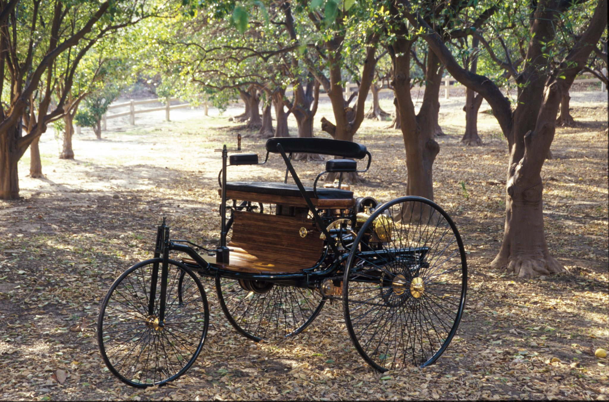 1886 Benz Patent Motorwagen Birth Of The Motorcar Heacock First Combustion Engine Diagram A Motorized Three Wheeler Identical To This One Claimed Right Be Called Example Pictured Is Handful Reproductions