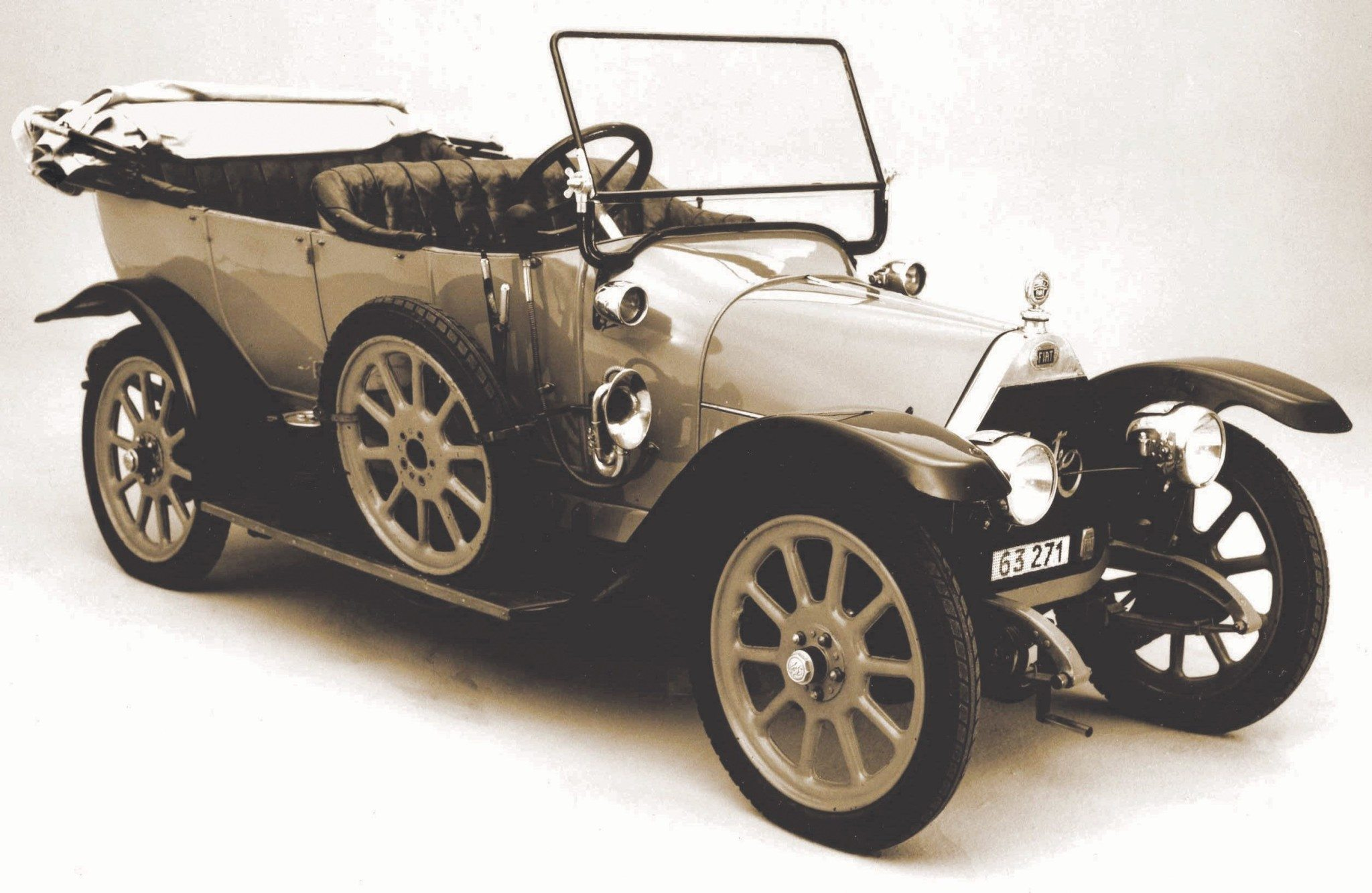 1912 Fiat Zero Torpedo