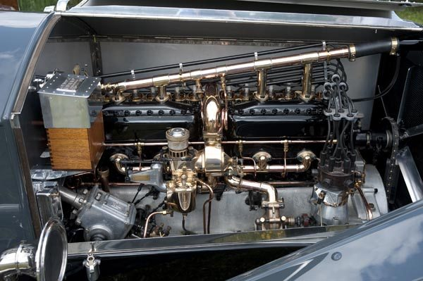 1912 Rolls Royce Silver Ghost 40/50 HP engine