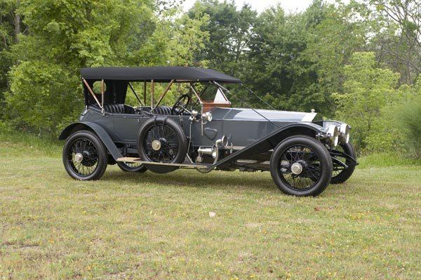 1912 Rolls Royce Silver Ghost 40/50 HP Side View