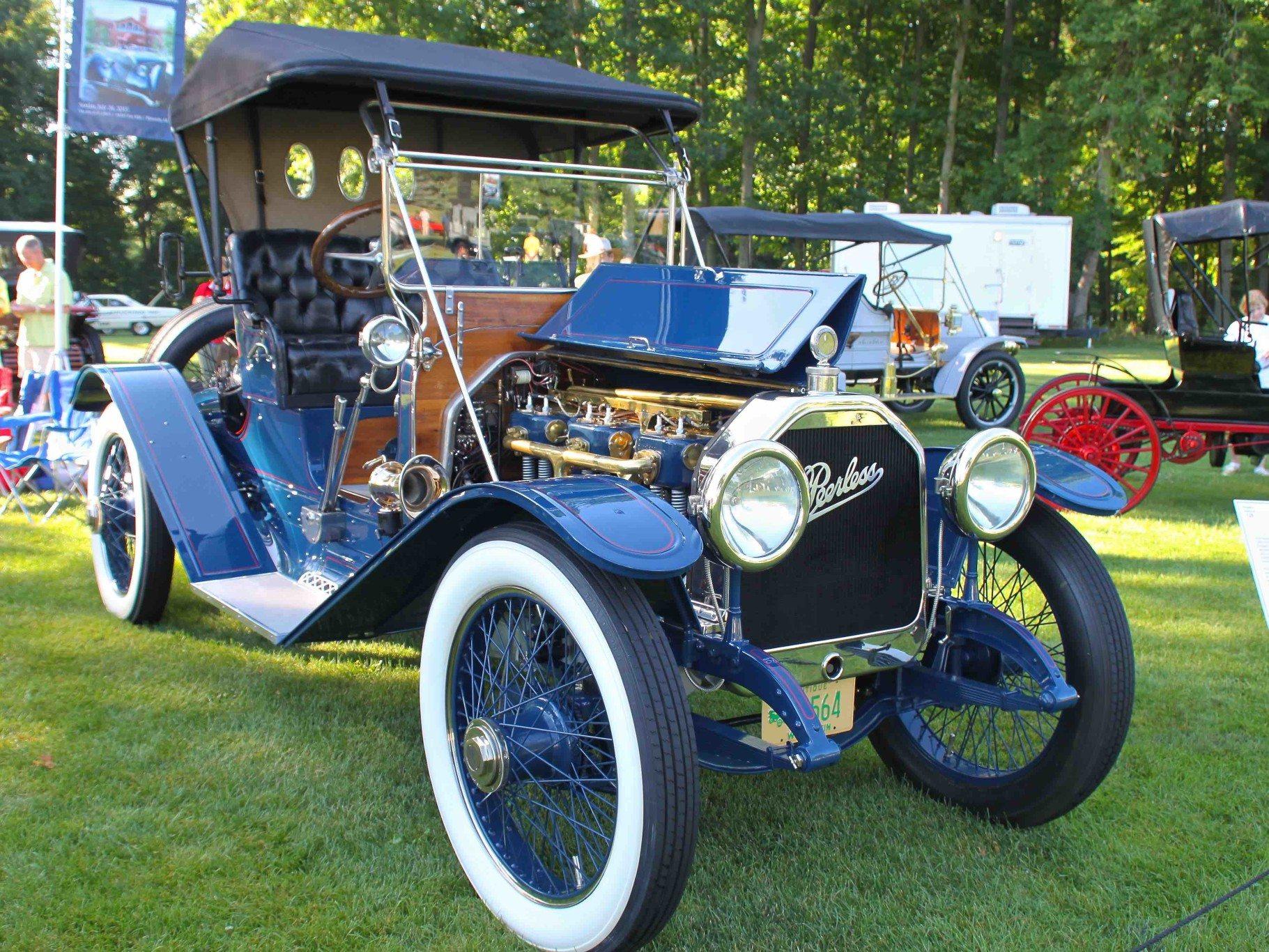 1913 Peerless Model 48 – Rescued From a Mountaintop | Heacock