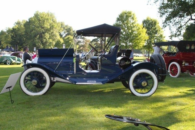 1913 Peerless 4 side