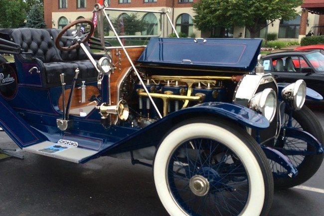1913 Peerless 5 engine