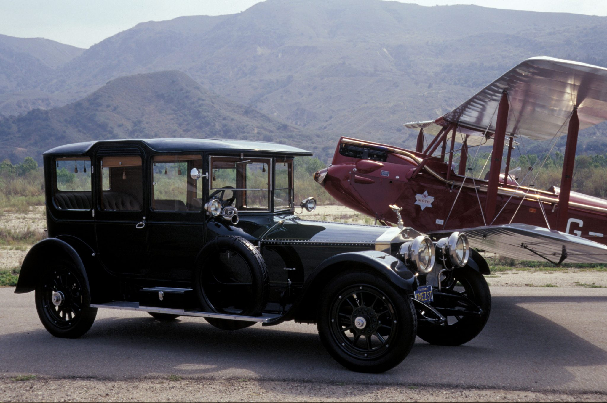 1913 Rolls-Royce Silver Ghost Town Carriage H.J. Mulliner
