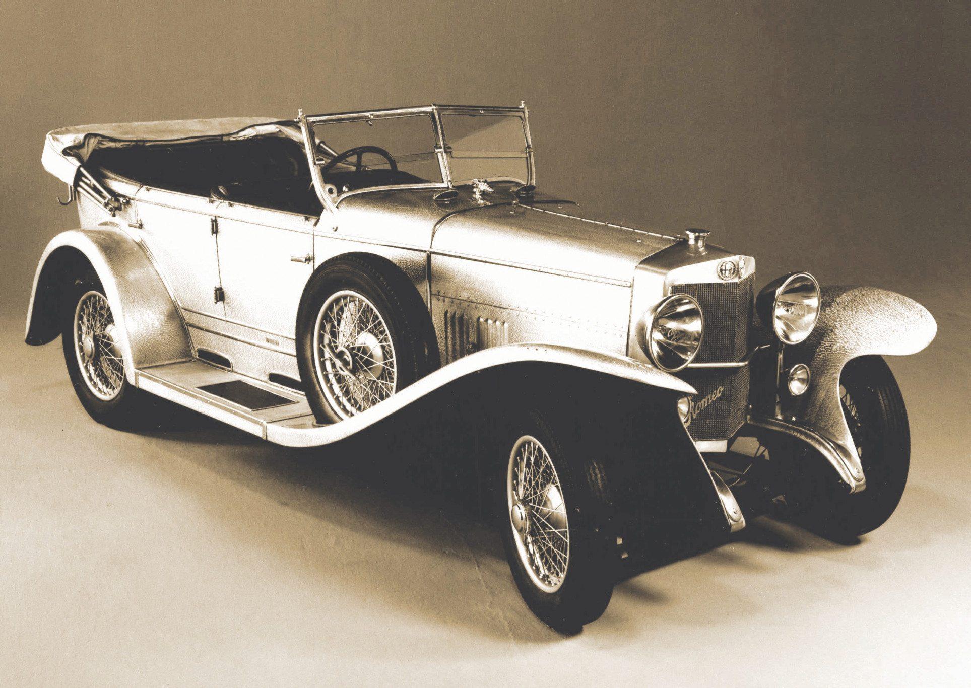 1925 Alfa Romeo Castagna RLSS