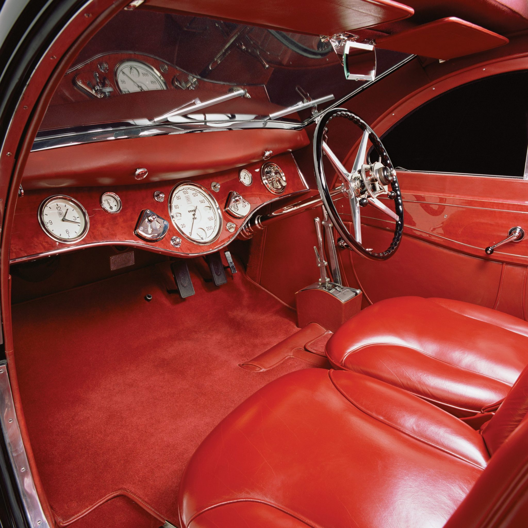 1925 Rolls-Royce Phantom 1 Jonckheere Coupe Interior