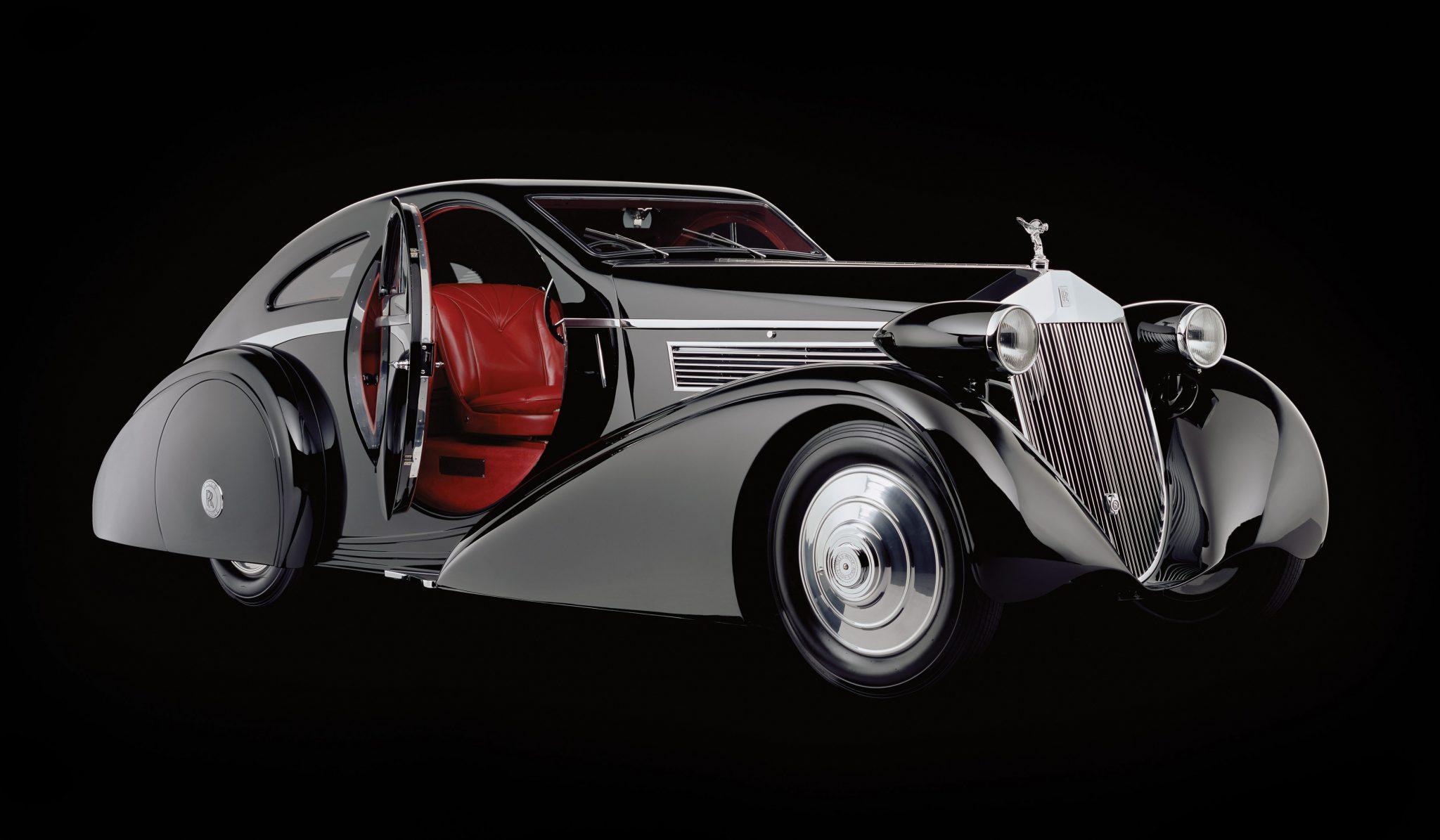 1925 Rolls-Royce Phantom 1 Jonckheere Coupe