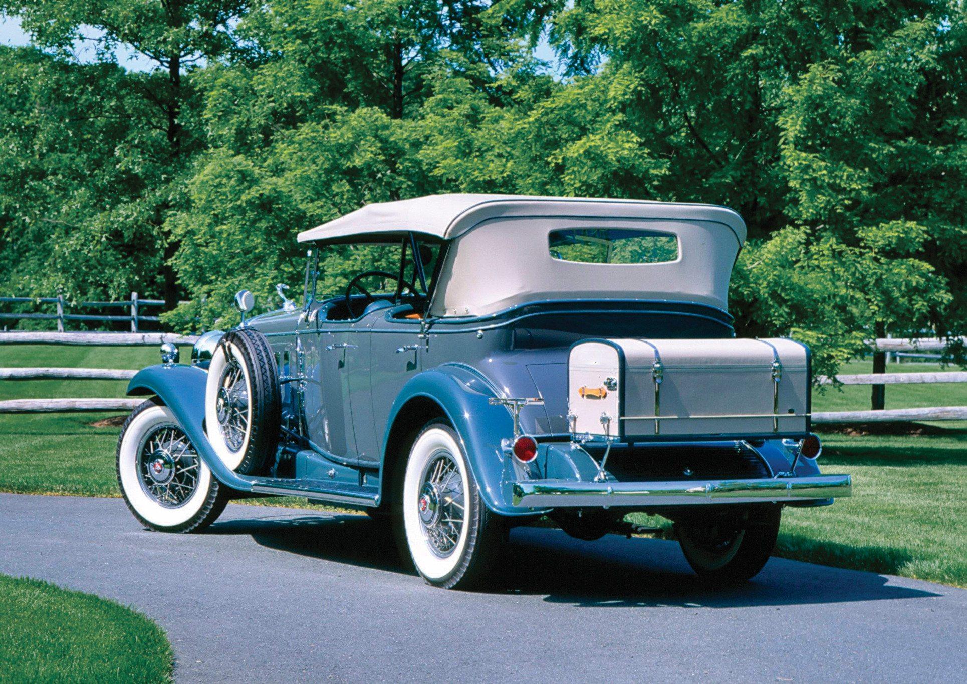 1930 Cadillac Sport Phaeton Rear
