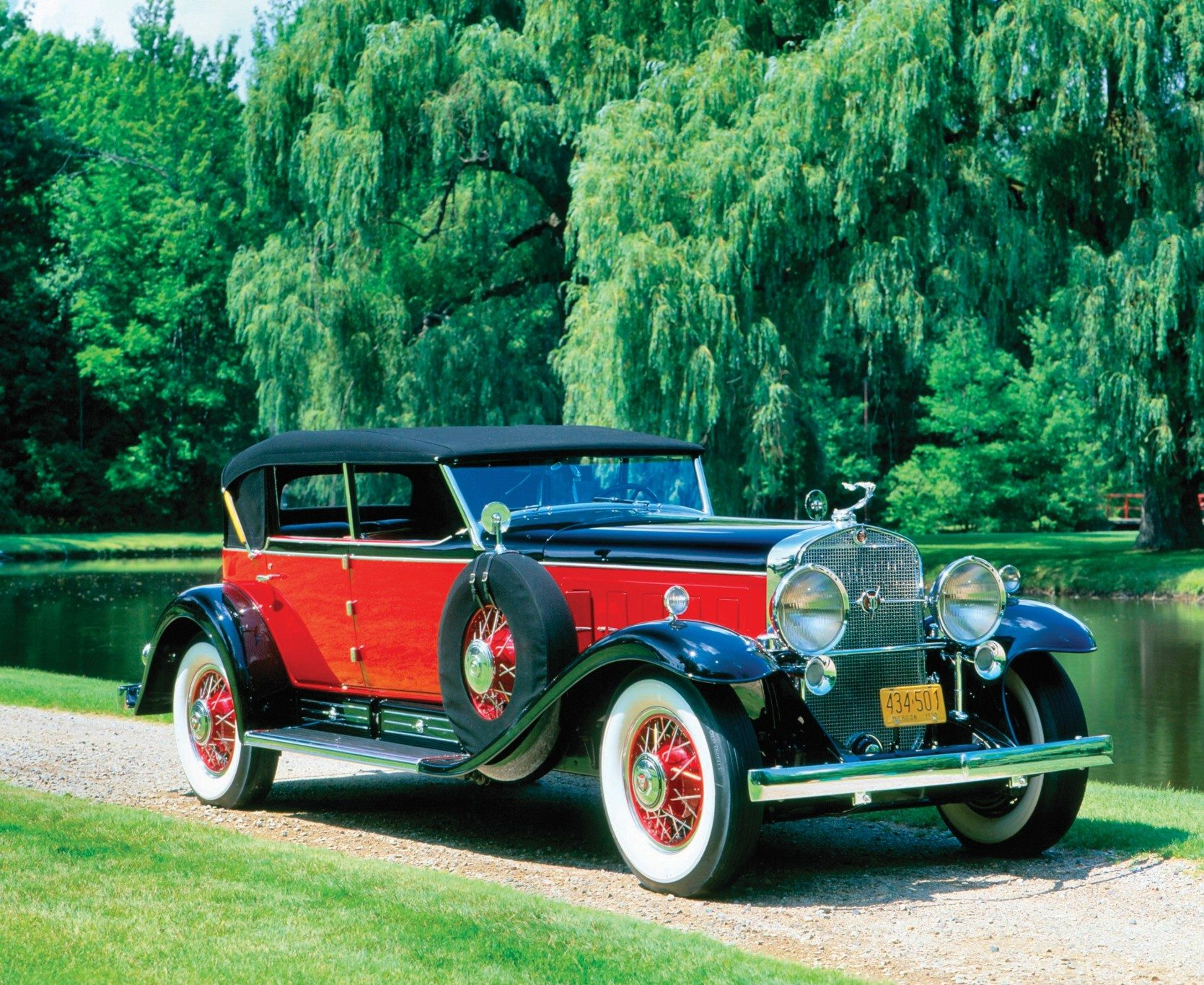 1930 Cadillac V16 All Weather Phaeton Charles Howard