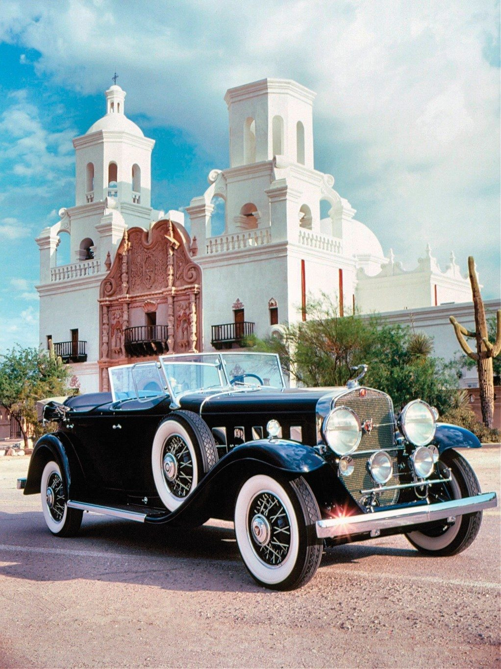1931 Cadillac Dual Windshield Sport Phaeton