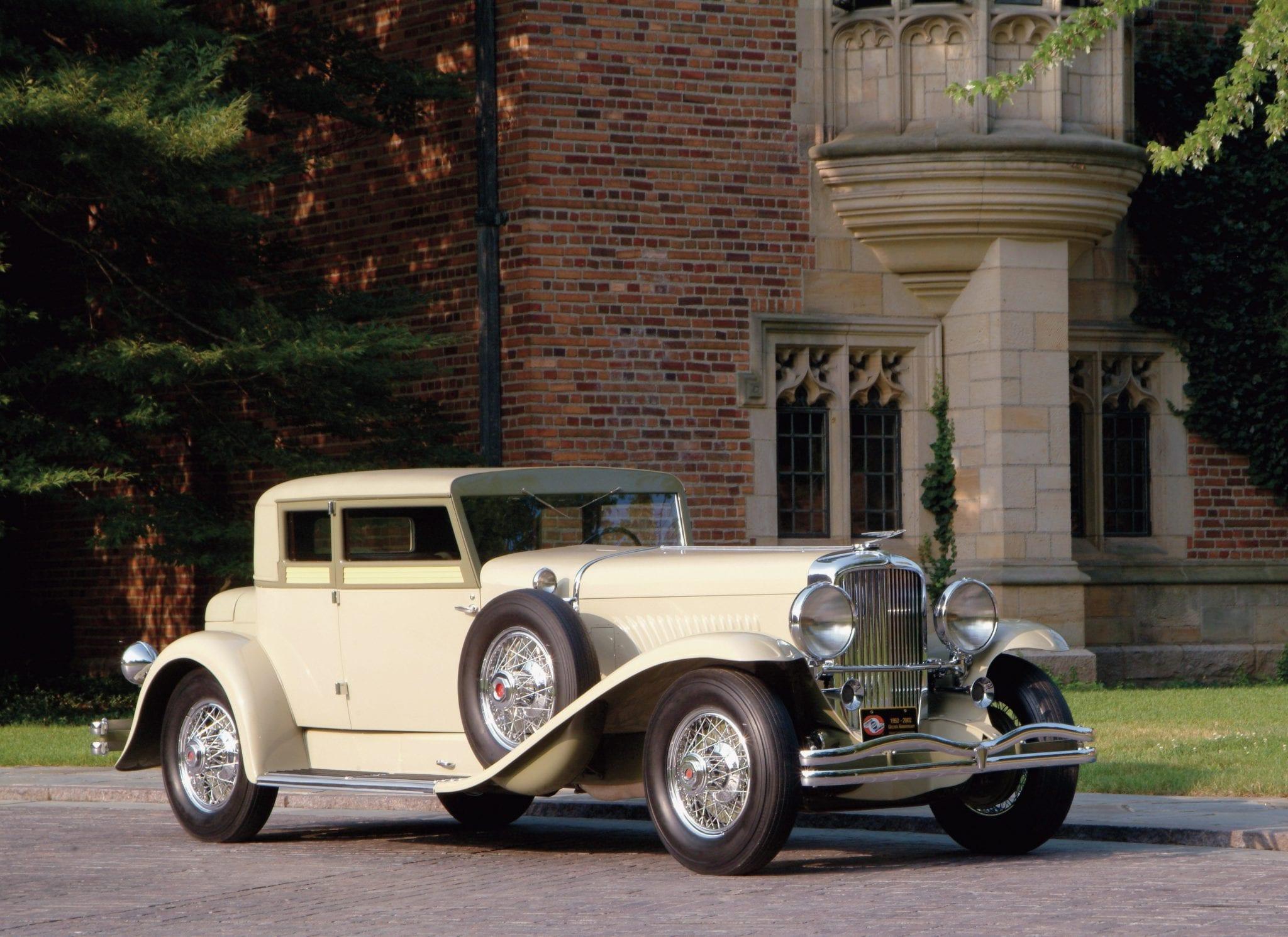 1932 Duesenberg Model J Victoria Coupe