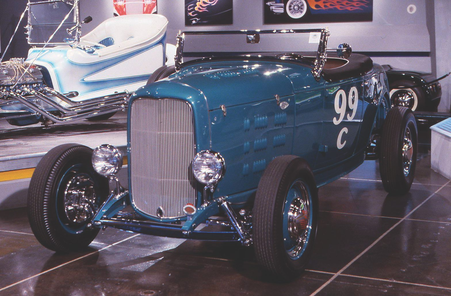 1932 Ford Ray Brown hi-boy roadster