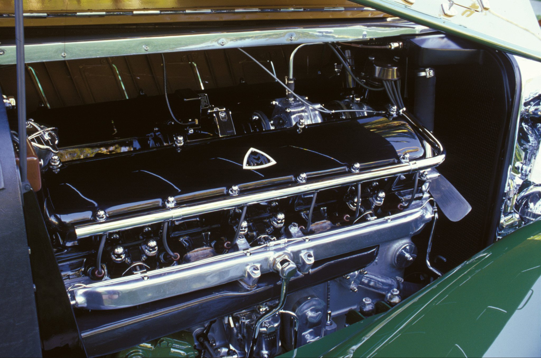 1932 Maybach Zeppelin DS8 V12 Engine