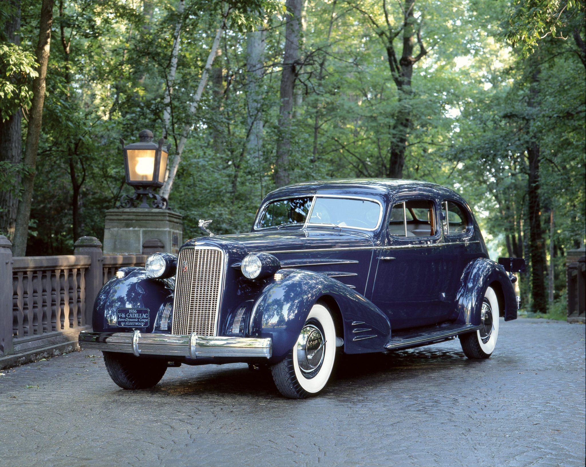 1933 Cadillac V16 Aero-Dynamic Coupe