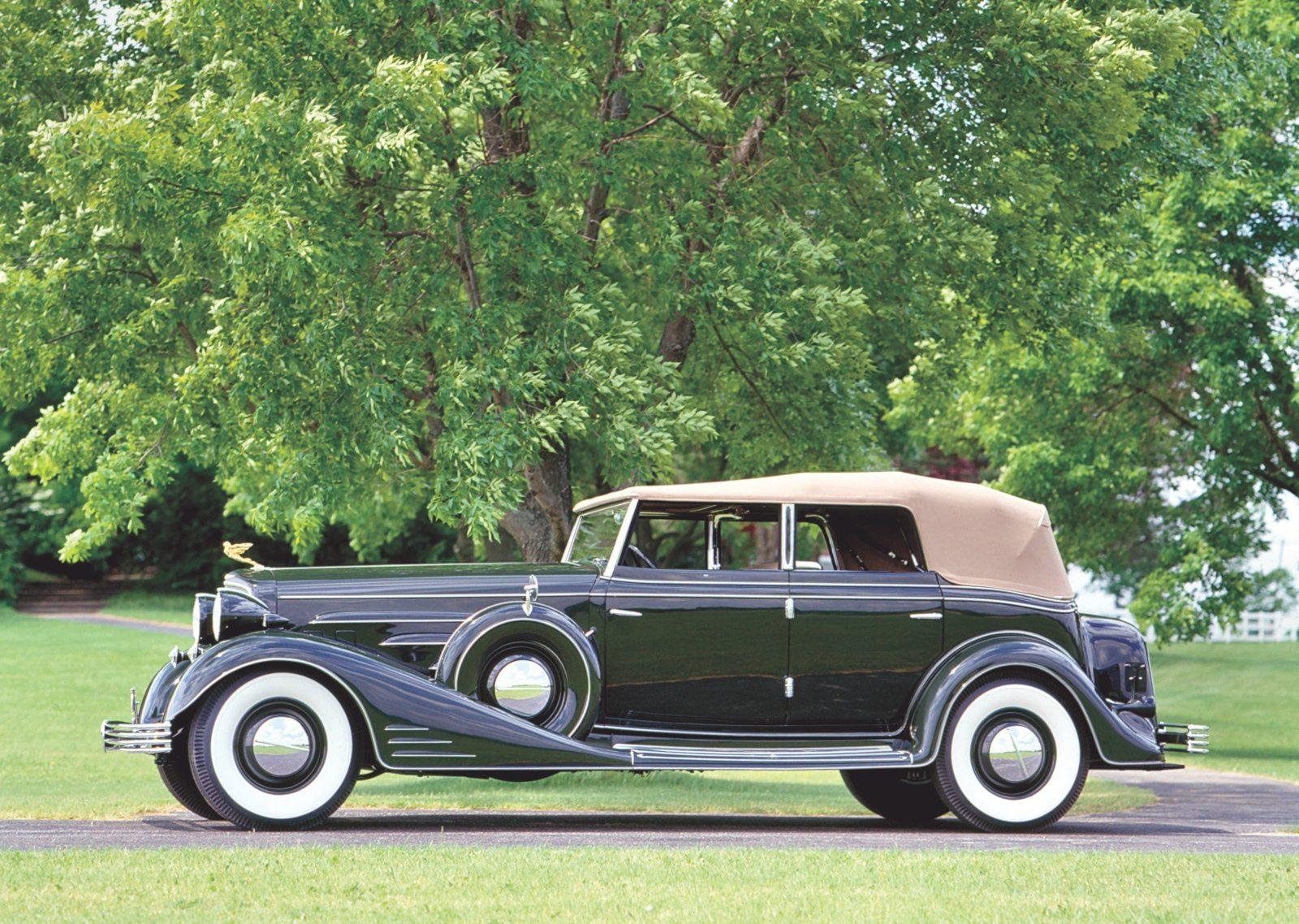 1933 Cadillac V16 Convertible Sedan by Fleetwood
