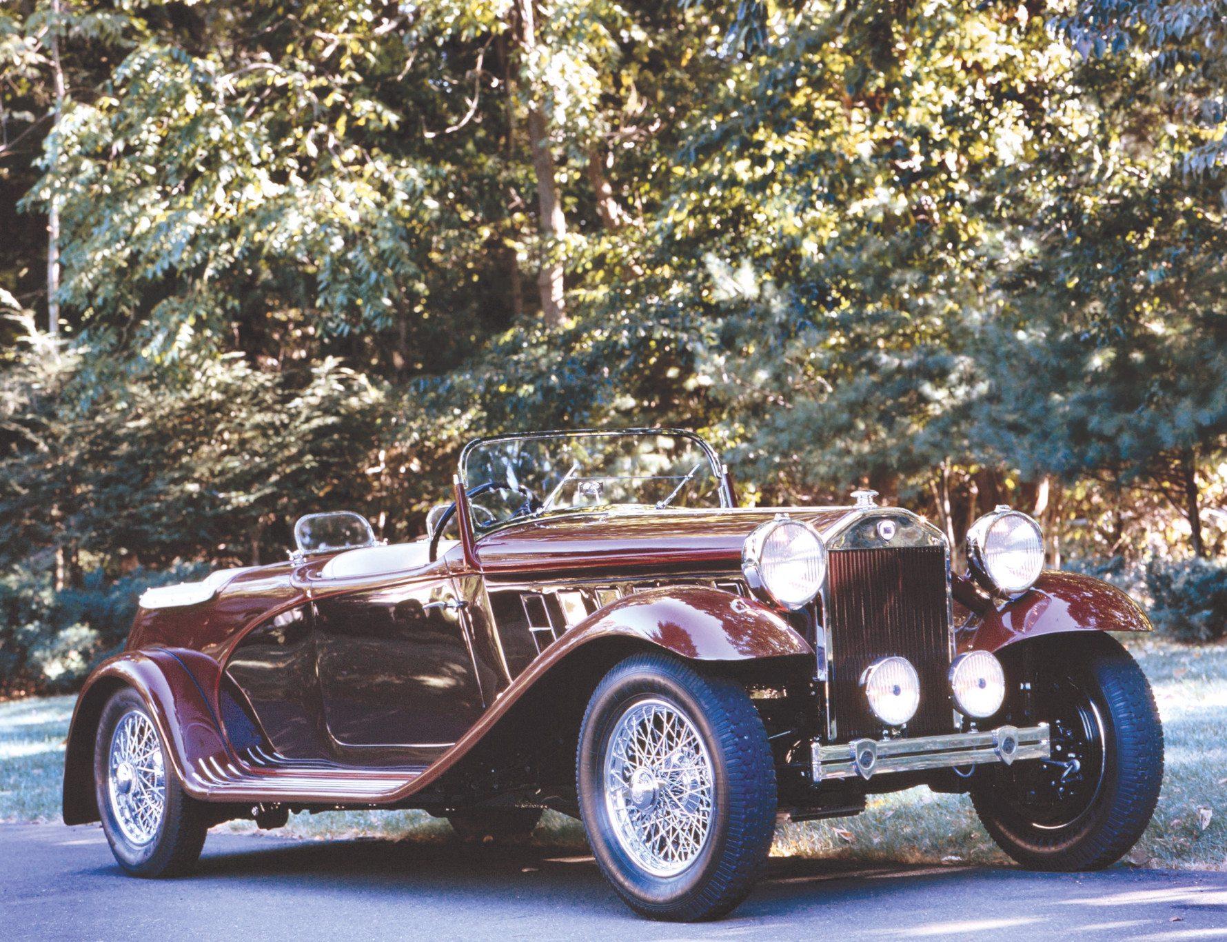 1933 Lancia Dilambda Viotti Torpedo