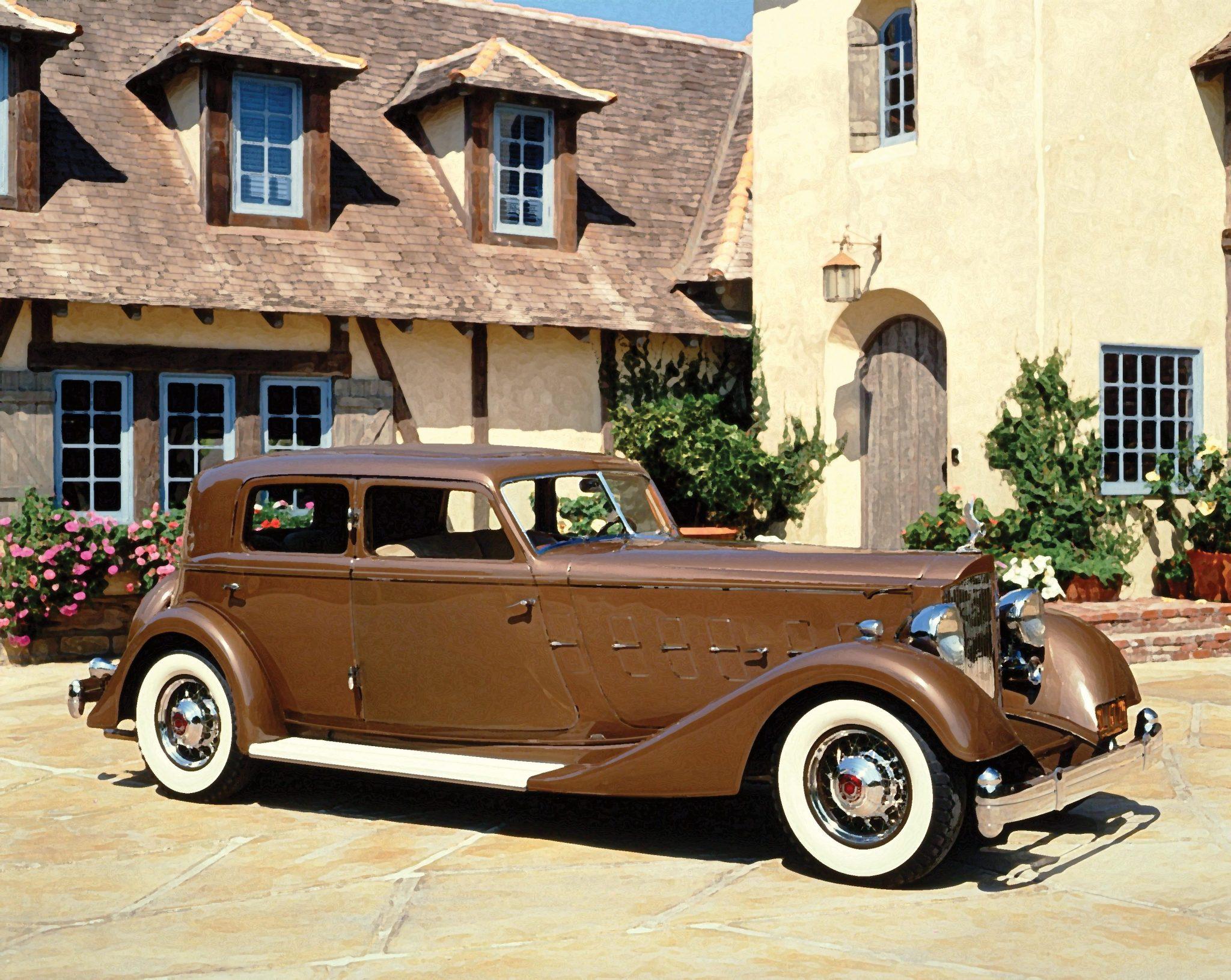 1933 Packard 1108