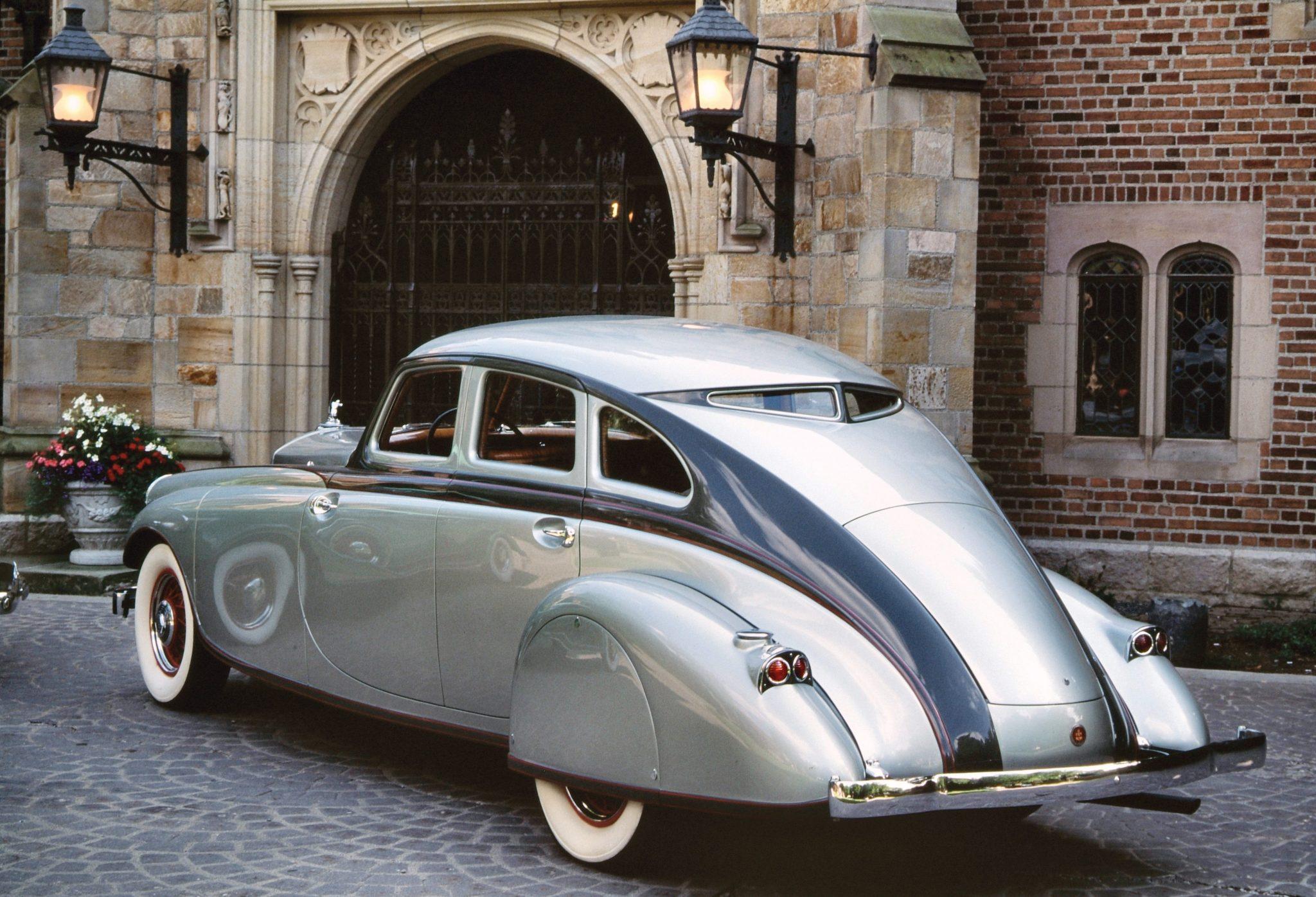1933 Pierce-Arrow Silver Arrow Rear