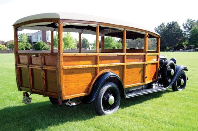 1934 Ford Strathglass Woodie Wagon pic 3 rear