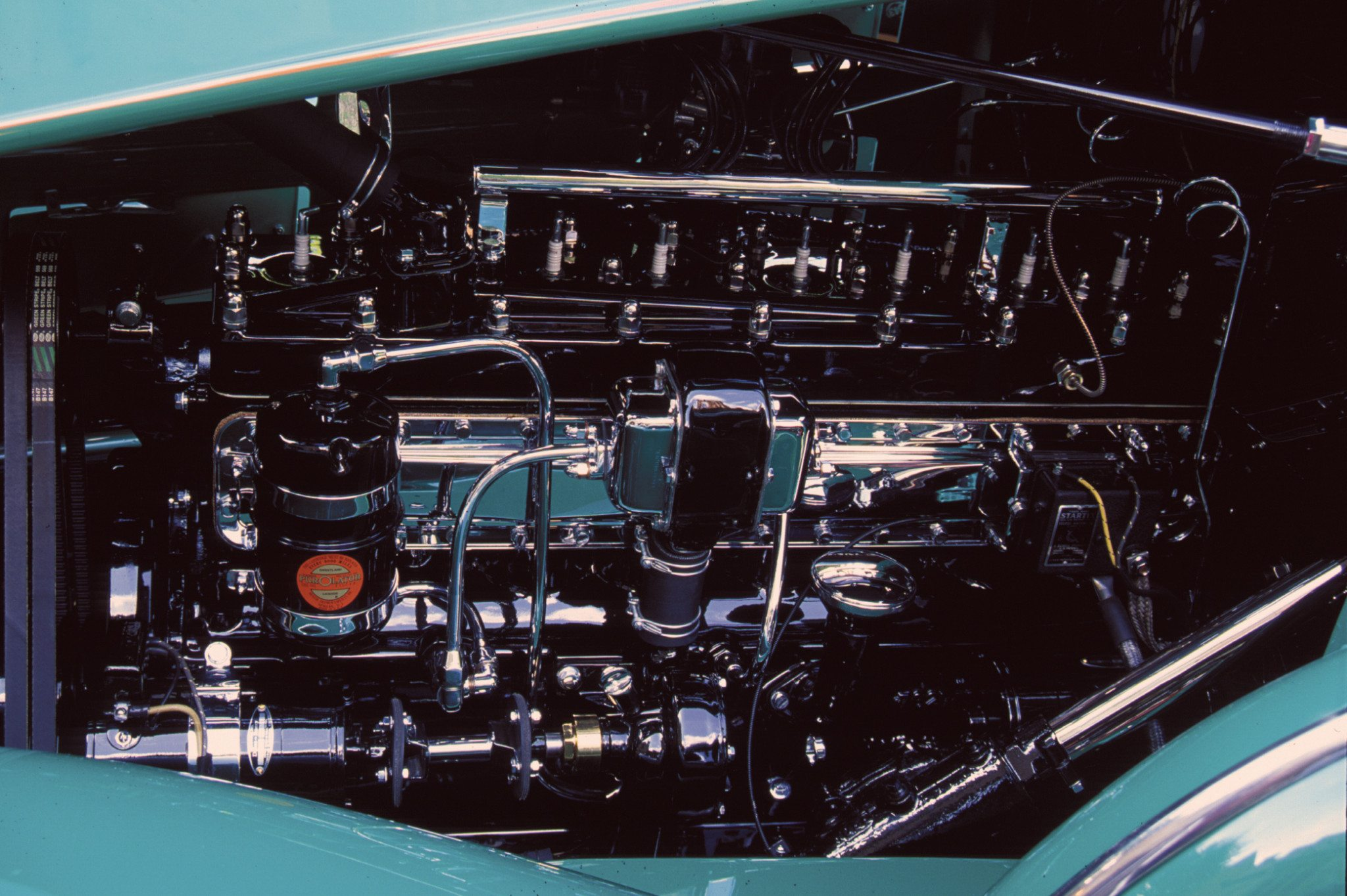 1934 Pierce-Arrow 12-cylinder Engine Silver Arrow