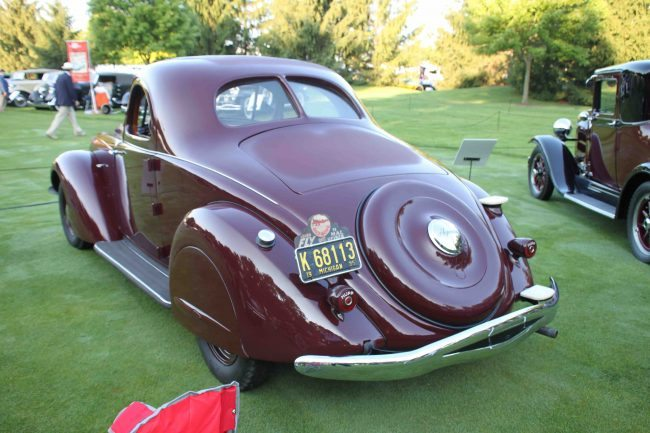 1935 Hupmobile Aero 4 rear
