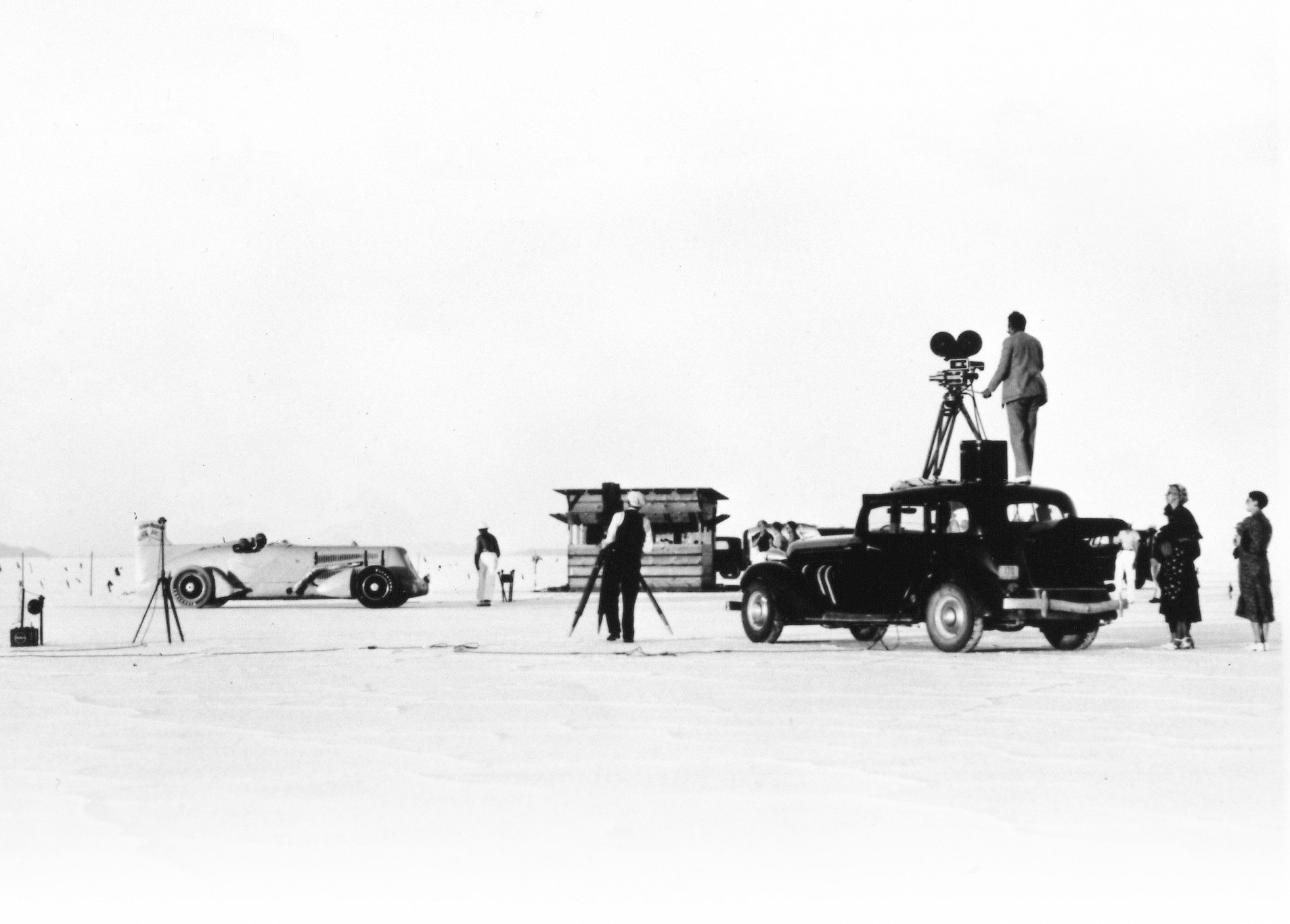 1935 Mormon Meteor At Bonneville
