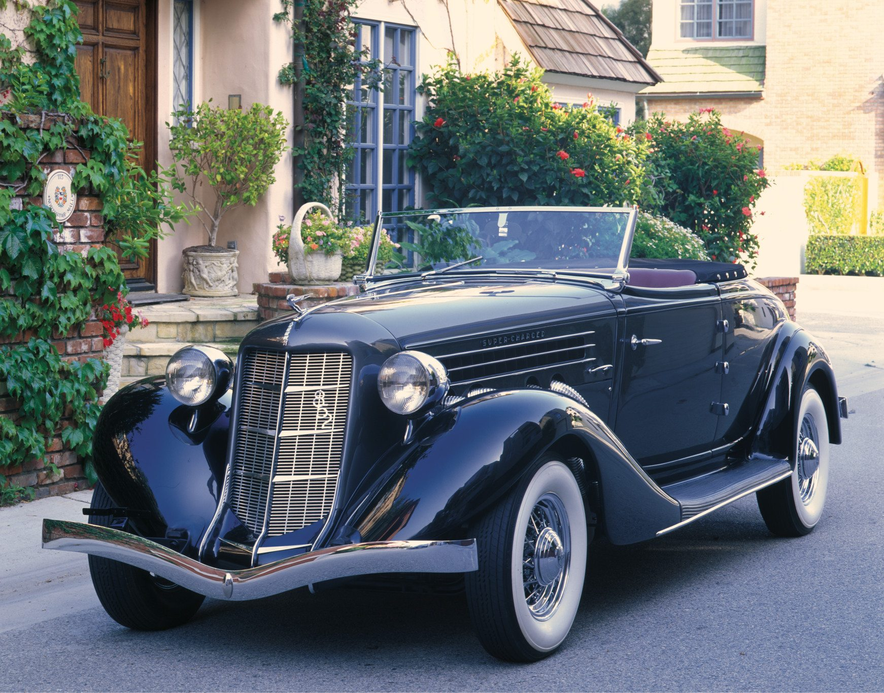 1936 Auburn 852 Supercharged Cabriolet
