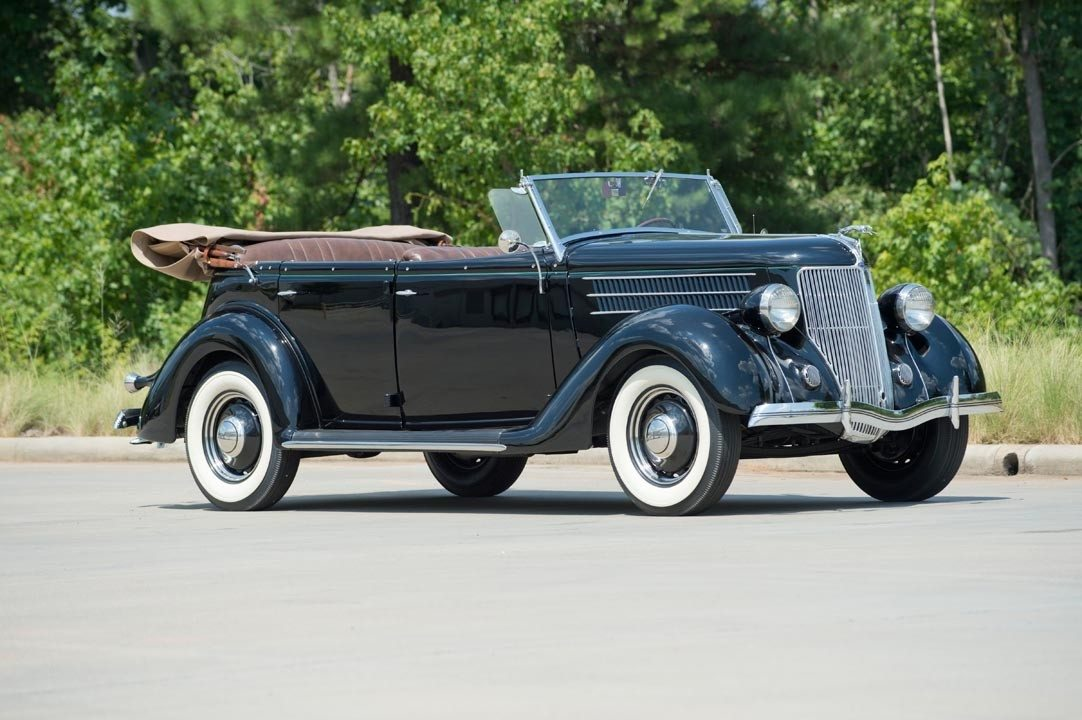 1936 Ford Deluxe Phaeton   Heacock Classic Insurance