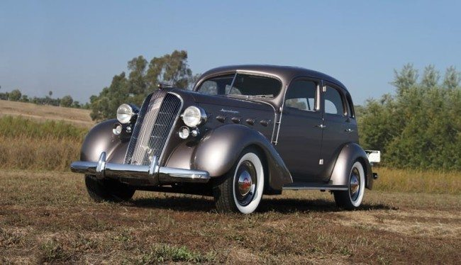 1936 Graham Supercharged Business Coupe pic 1