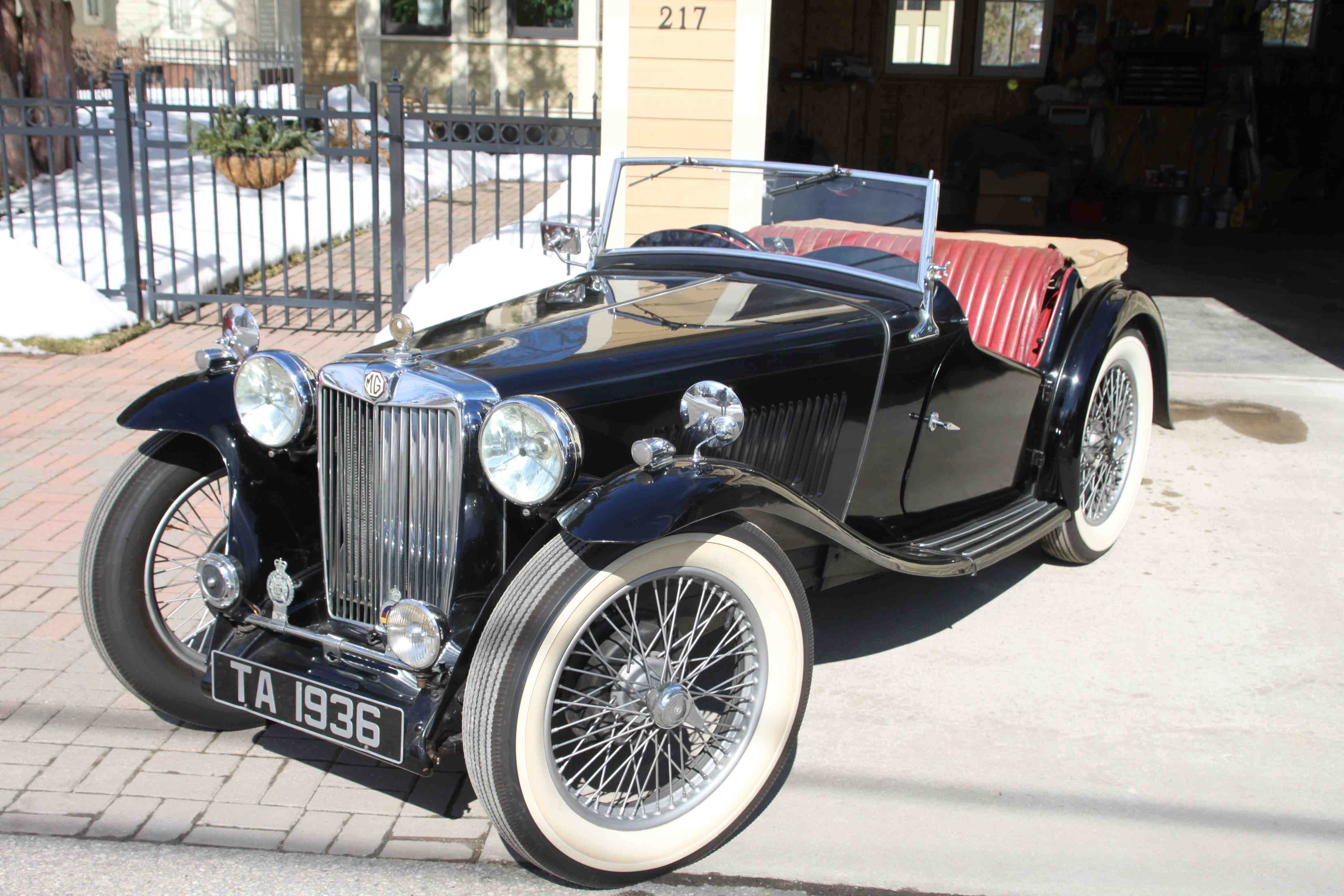 1936 MG TA Roadster