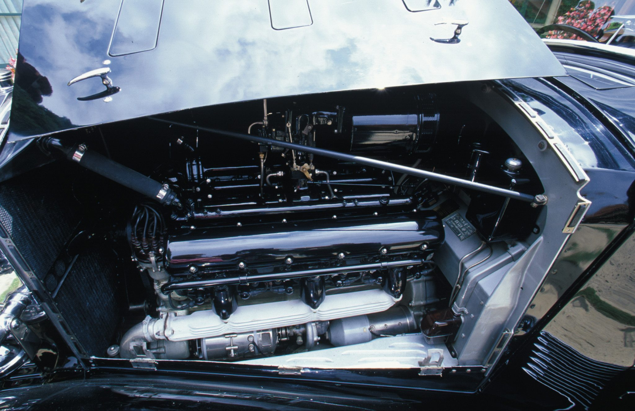 1937 Rolls-Royce Brewster-bodied Sedanca De Ville V12 Engine