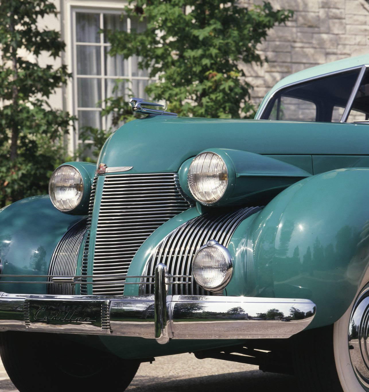 1938 Cadillac Sixty Special Front End