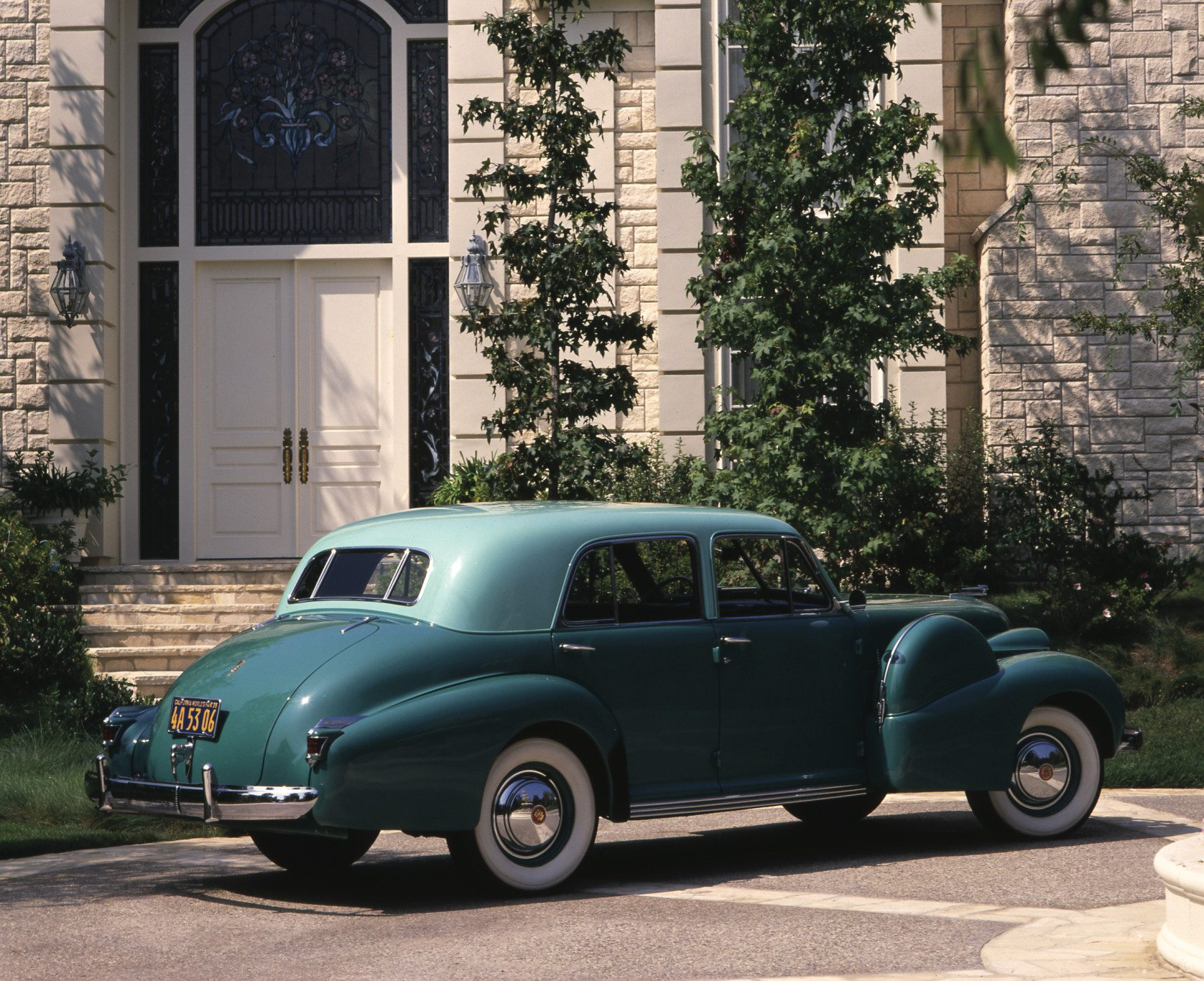 1938 Cadillac Sixty Special Rear View
