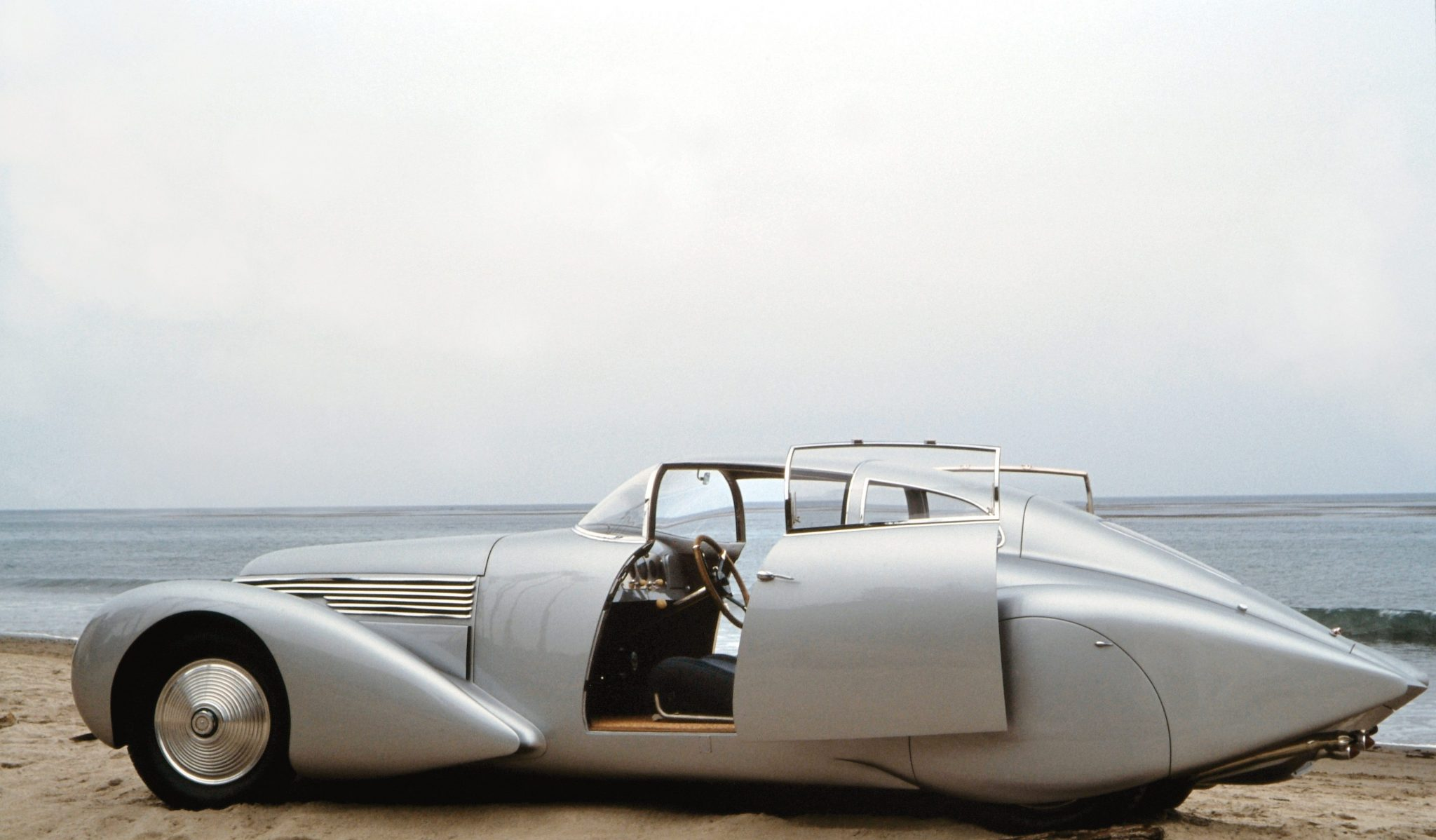 1938 Dubonnet Xenia Coupe Doors Open