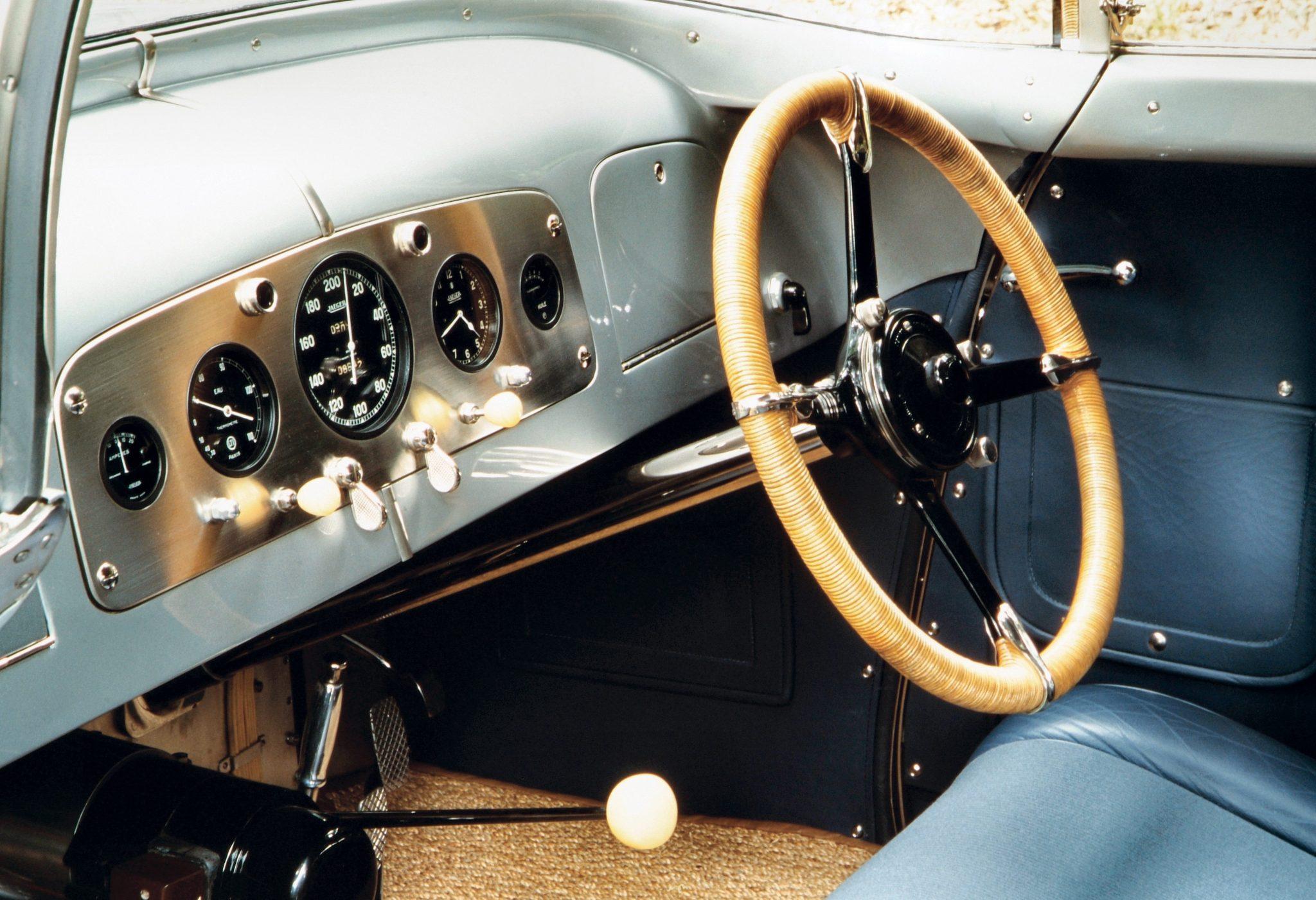 1938 Dubonnet Xenia Coupe Interior
