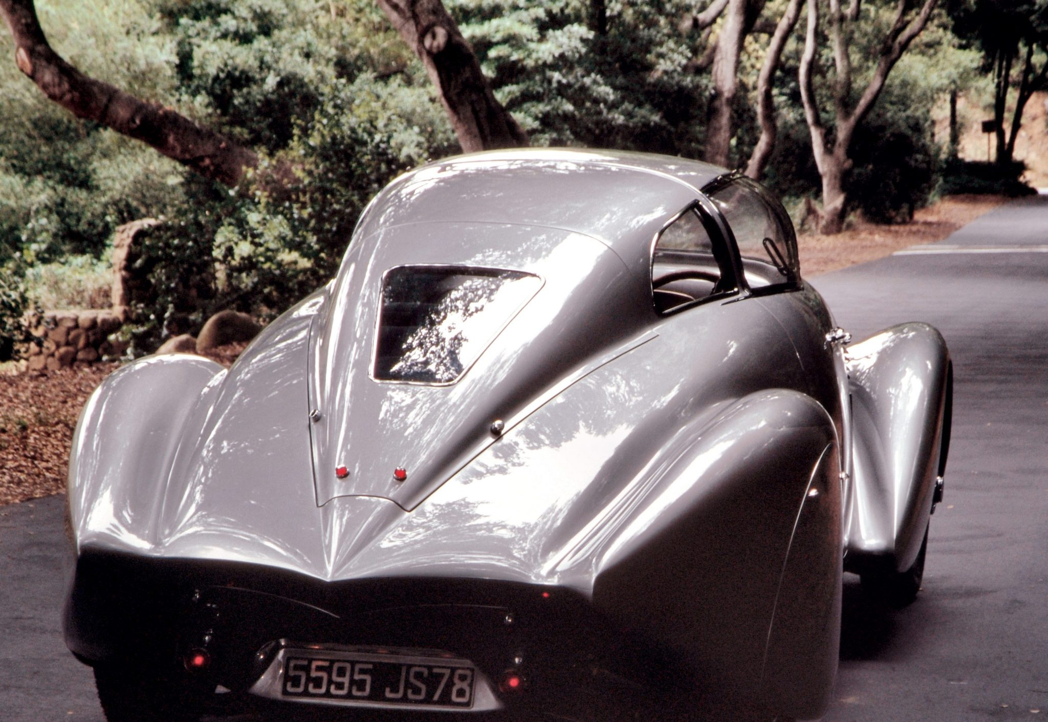 1938 Dubonnet Xenia Coupe Rear