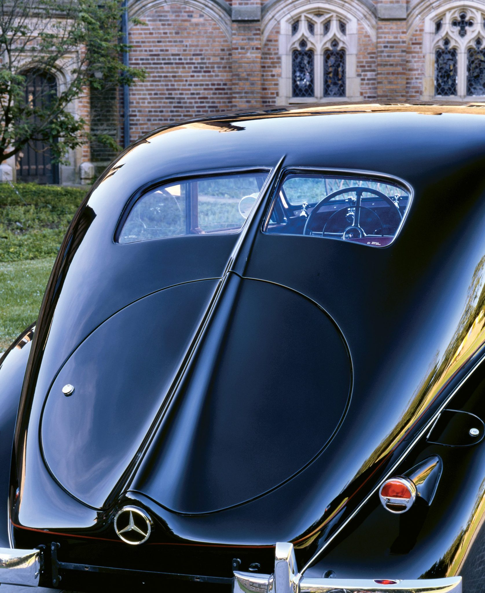 1939 Mecedes-Benz 320 Rear