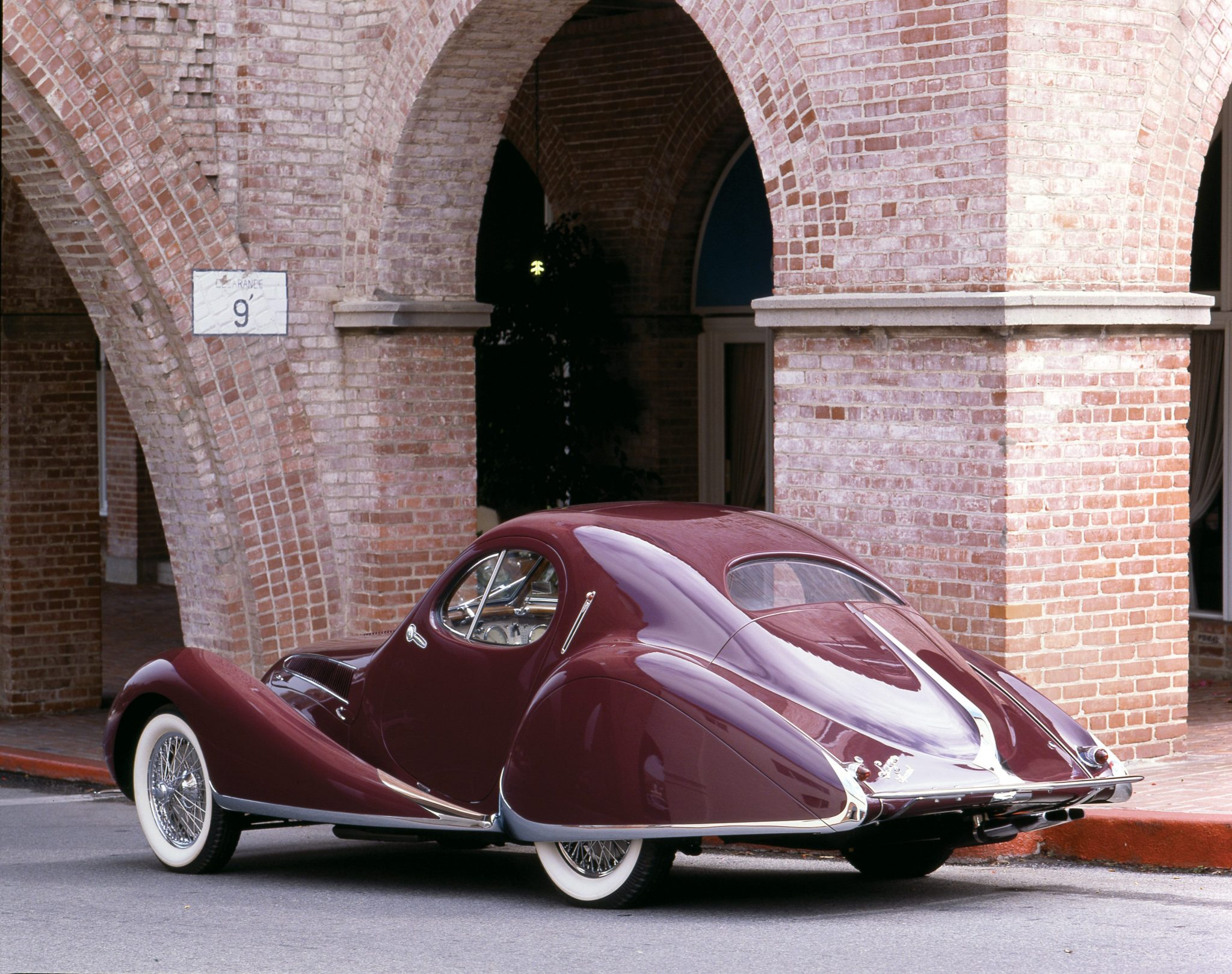 1939 Talbot-Lago T150 SS Lago Special Rear