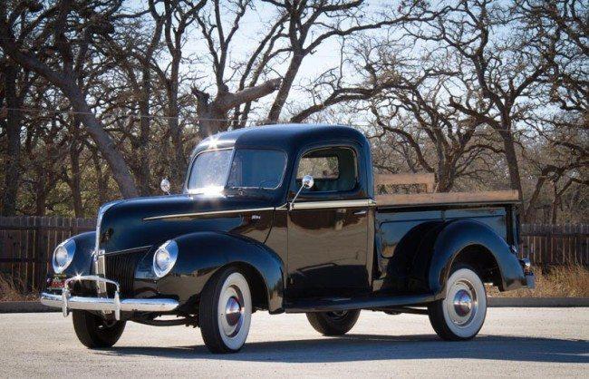 1940 Ford V-8 Pickup pic