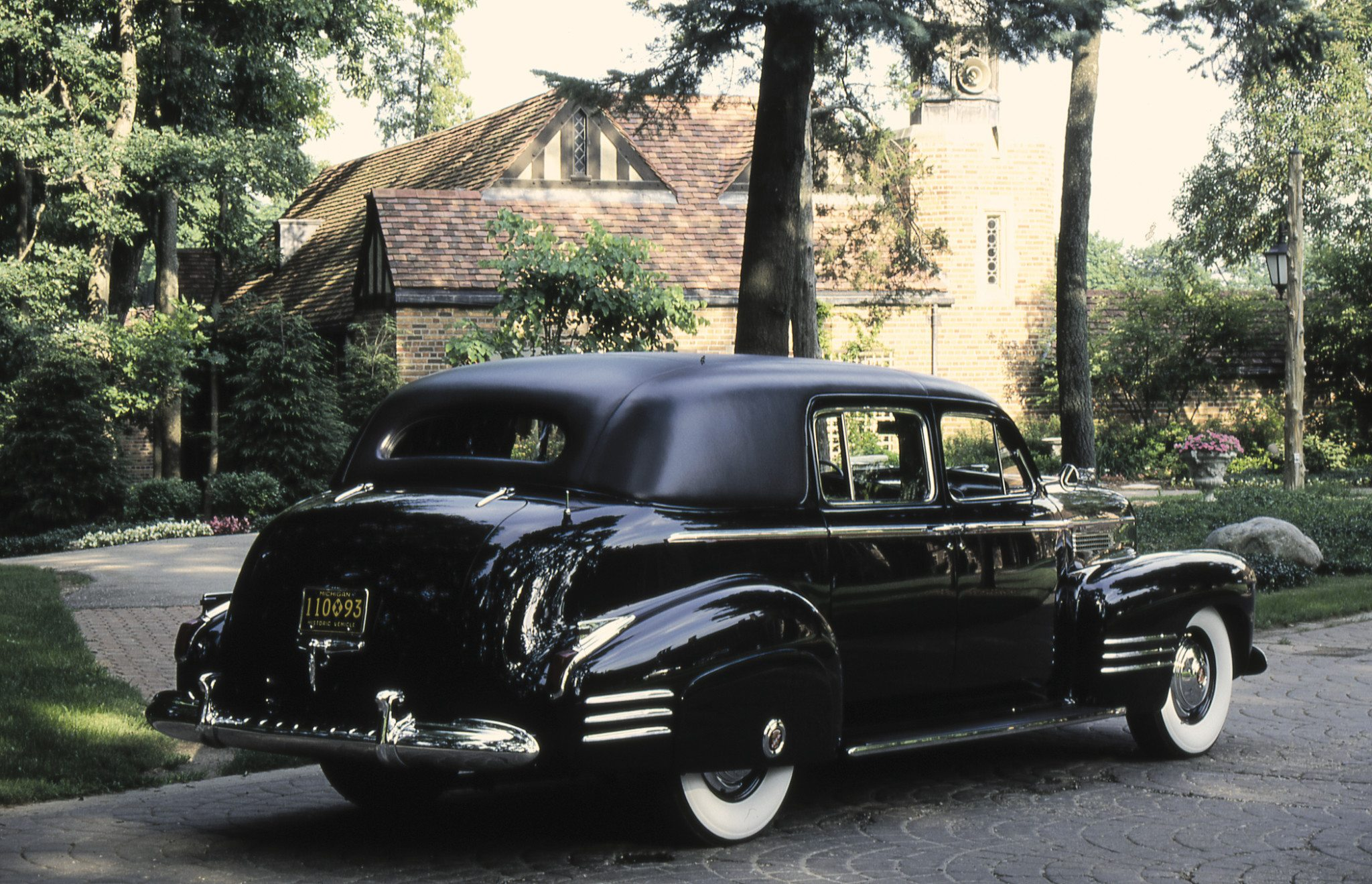 1941 Cadillac Fleetwood Series 75 Limousine model 33F Rear View
