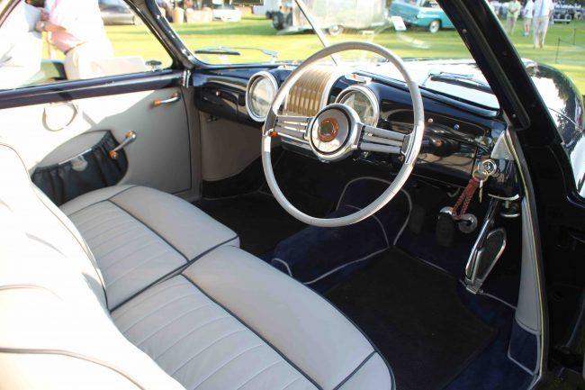 1948 Alfa 4 driver's side interior