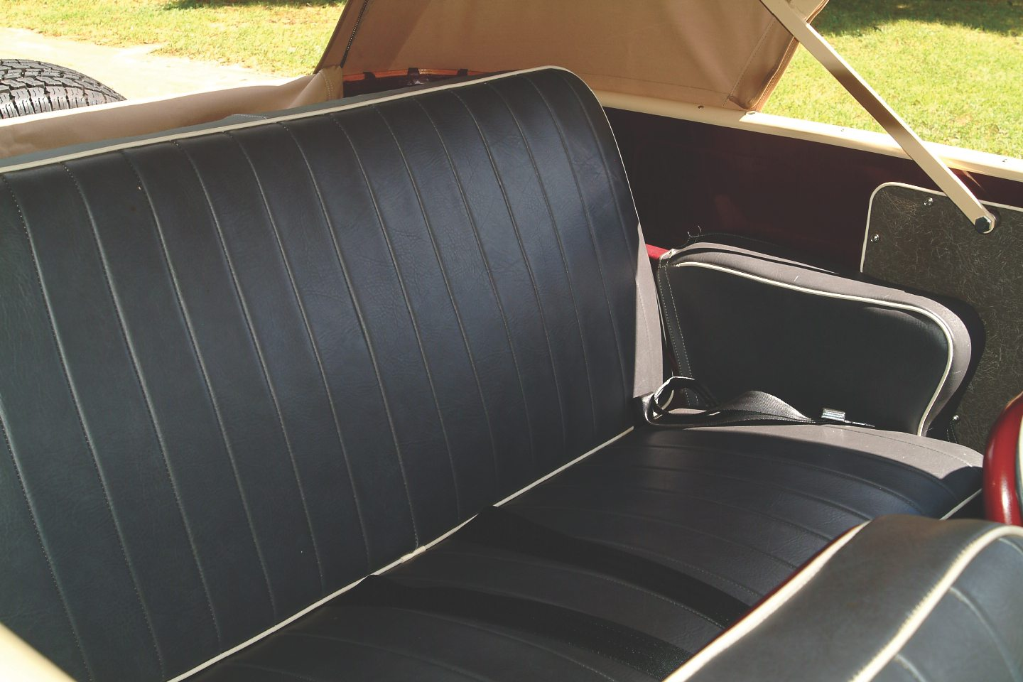 1949 Willys-Overland Jeepster Backseat