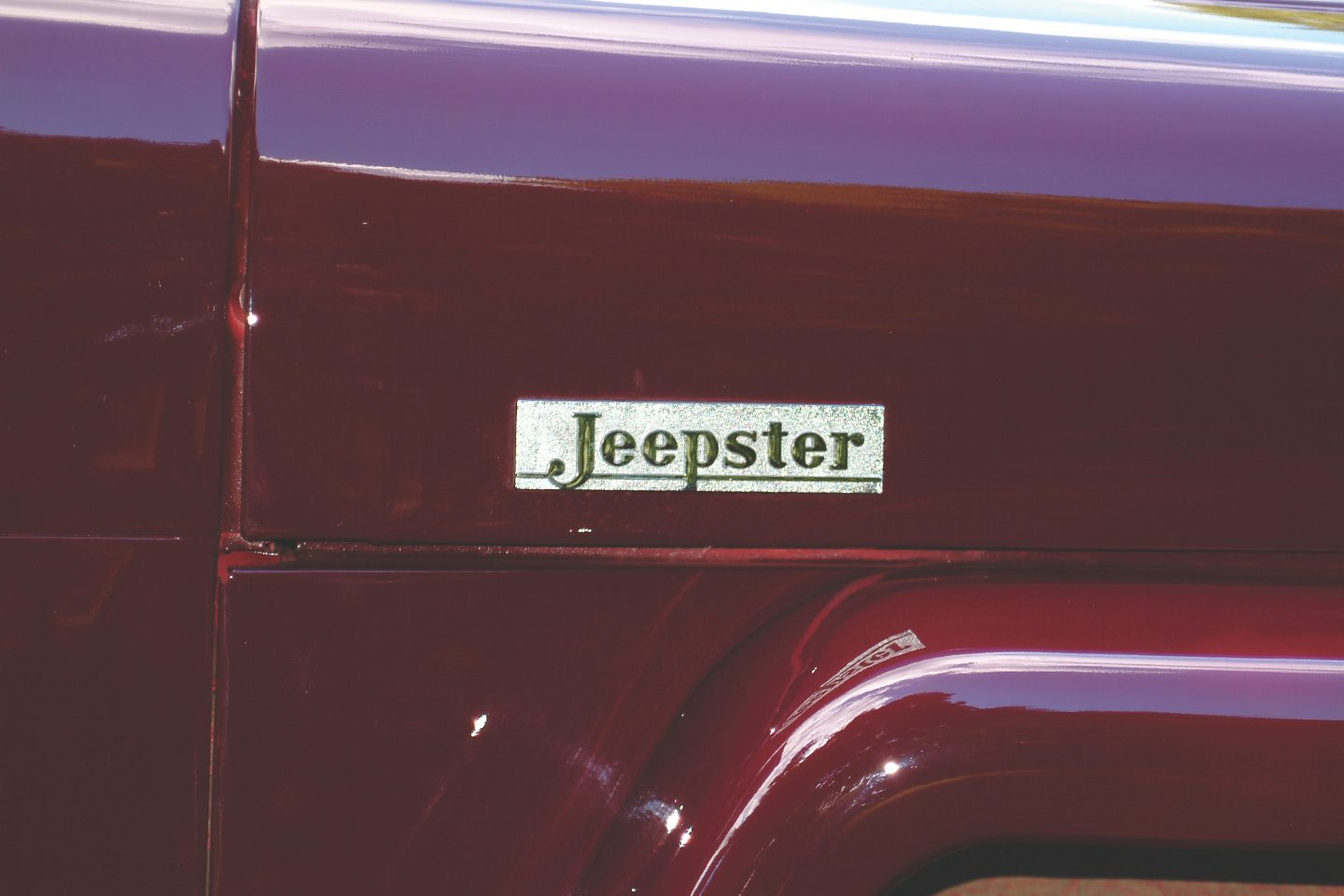 1949 Willys-Overland Jeepster Badge