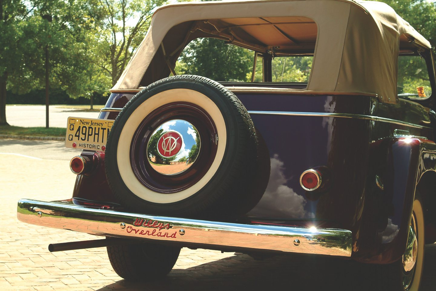 1949 Willys-Overland Jeepster Rear